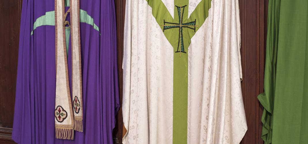 Liturgische Farben im Gottesdienst