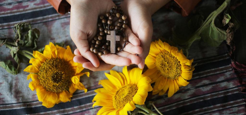 Rosenkranzfest - Gebete zum Marienfeste