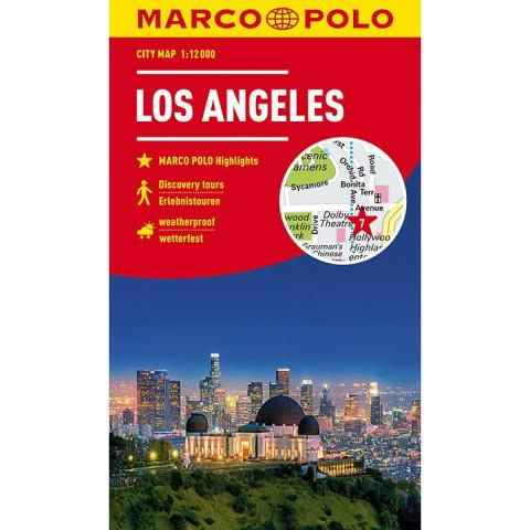 MARCO POLO Cityplan Los Angeles 1:12 000