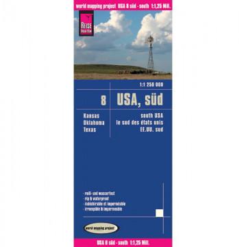 World Mapping Project USA 08 Süd 1 : 1 250 000