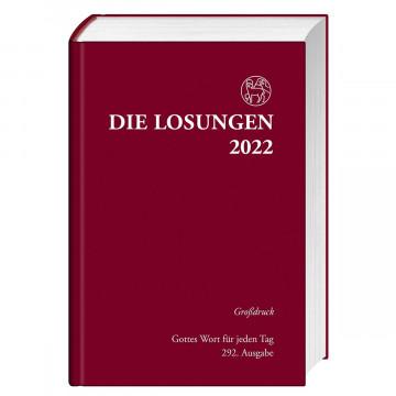Die Losungen für Deutschland 2022 - Großdruckausgabe