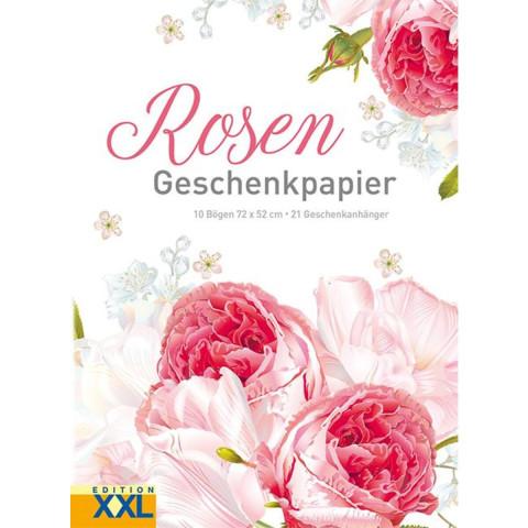 Geschenkpapier »Rosen«
