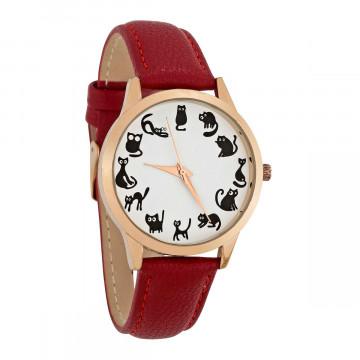 Armbanduhr »Katze«