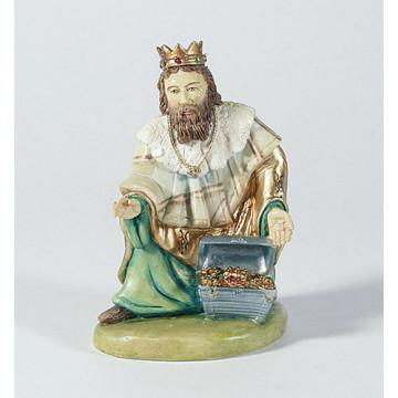 König, kniend