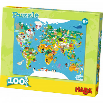Puzzle »Weltkarte«