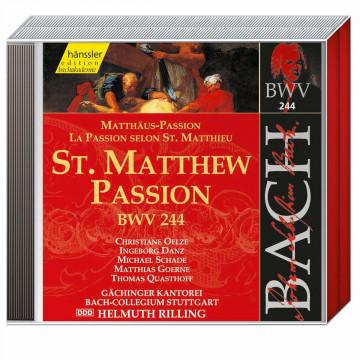 3er Set CD: Johann Sebastian Bach »Matthäus-Passion« (BWV 244)