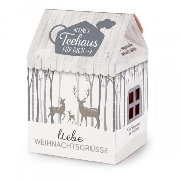 Teehaus »Liebe Weihnachtsgrüße«