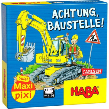 """Maxi-Pixi-Spiel """"made by haba"""" VE 3: Achtung, Baustelle! (3 Exemplare)"""