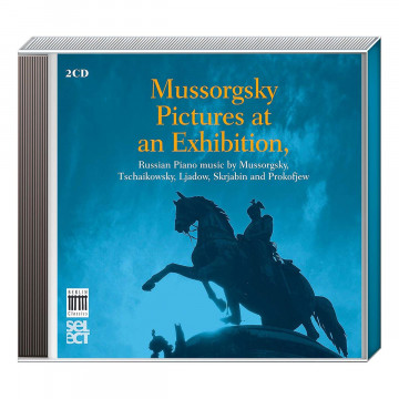 2 CDs »Mussorgsky - Pictures at an Exhibition«