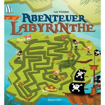Abenteuer-Labyrinthe. Bunt und spannend.