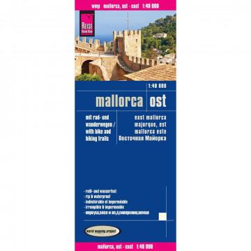 Mallorca Ost Wanderkarte 1 : 40 000