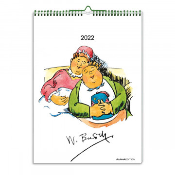 Wilhelm Busch Kalender 2022