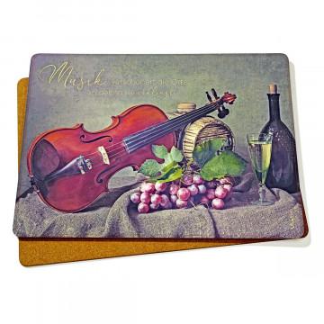 2er-Set Platzsets »Geige«