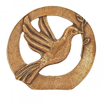 Stehplakette »Friedenstaube«