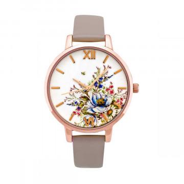 Armbanduhr »Les fleurs«