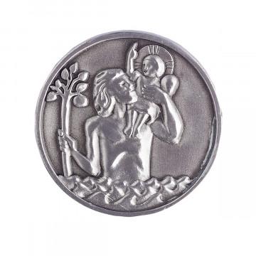 Christophorus Plakette 3 cm (1 Stück)