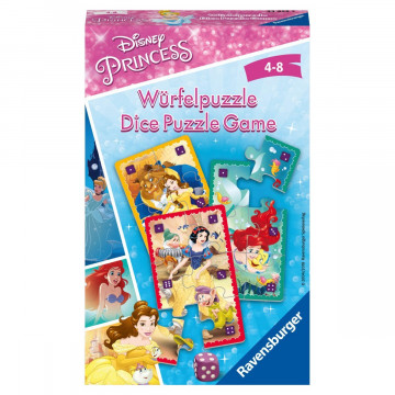 Disney Princess Würfelpuzzle