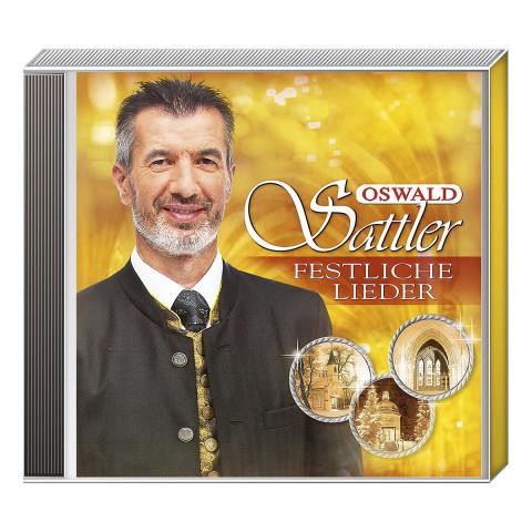 CD »Oswald Sattler - Festliche Lieder«