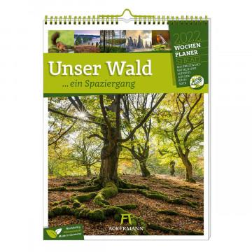 Unser Wald, ein Spaziergang - Wochenplaner 2022
