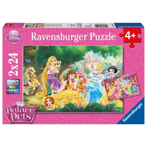 Disney Prinzessin: Beste Freunde der Prinzessinnen. Puzzle 2 x 24 Teile