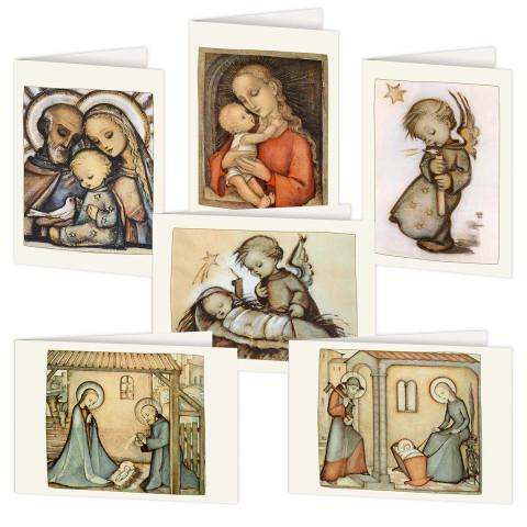 6er-Set Weihnachtskarten »Sr. Maria Innocentia Hummel«
