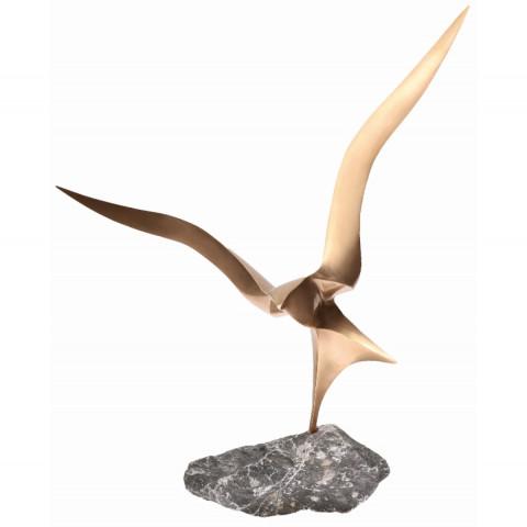 Figur Landung aus Bronze (1 Stück)