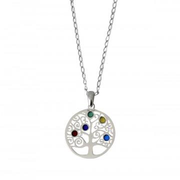 Silberkette »Lebensbaum«