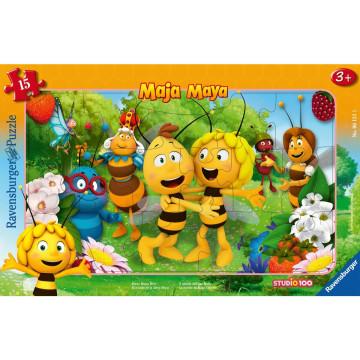 AT: Biene Maja. Rahmenpuzzle 15 Teile