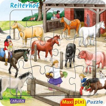 Maxi Pixi: Maxi-Pixi-Puzzle VE 5: Reiterhof (5 Exemplare)