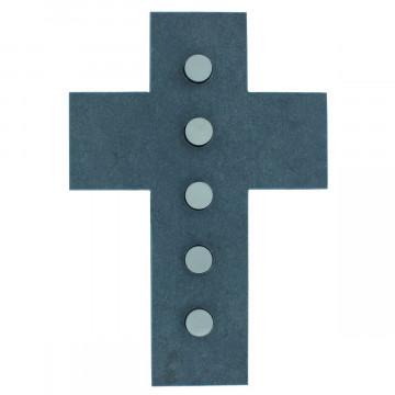 Schieferkreuz (1 Stück)