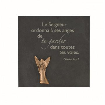 "Schiefertafel ""Le seigneur ordonna ..."" (1 Stück)"