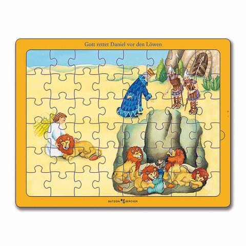 Bibel-Puzzle: »Gott rettet Daniel vor der Löwengrube«