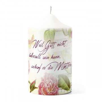 Kerze »Eine Rose für dich«