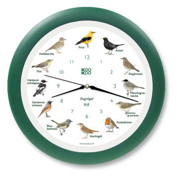 Wanduhr »Singvögel«