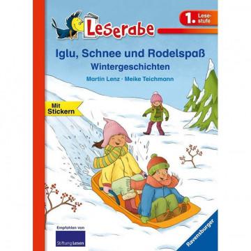 Leserabe - 1. Lesestufe: Ein Pony will hoch hinaus: Iglu, Schnee und Rodelspaß. Wintergeschichten