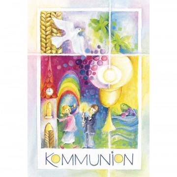 Glückwunschkarte Kommunion (6 Stück)