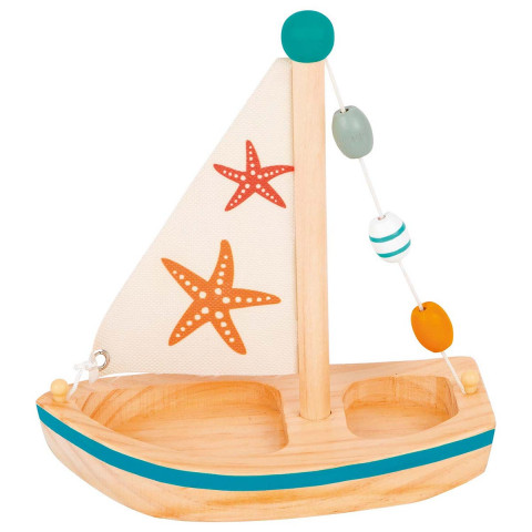Wasserspielzeug Segelboot Seestern