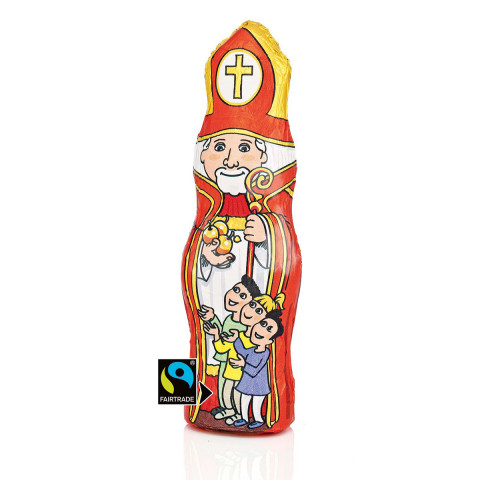 Fairtrade-Nikolaus im 12er-Set