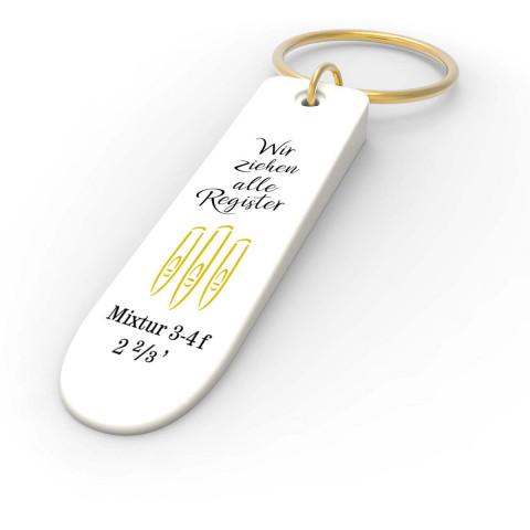 Schlüsselanhänger »Orgelregister«