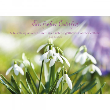 Postkarte Ein frohes Osterfest (10 Stück)