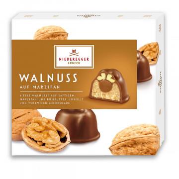 Pralines »Walnuss auf Marzipan«