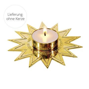 Teelichthalter »Stern von Bethlehem«