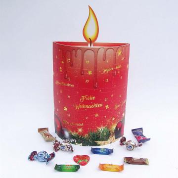 Adventskalender »3D-Kerze«