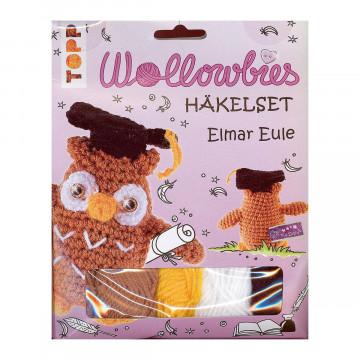 Wollowbies Häkelset Elmar Eule