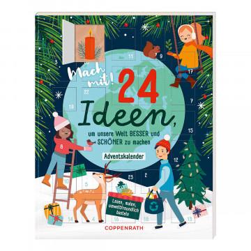 Mitmachkalender Mach mit 24 Ideen um unsere Welt besser und schöner zu machen