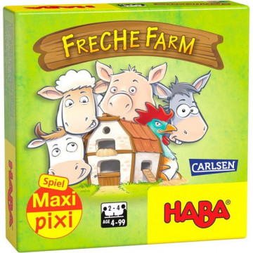 "Maxi-Pixi-Spiel ""made by haba"" VE 3: Freche Farm (3 Exemplare)"