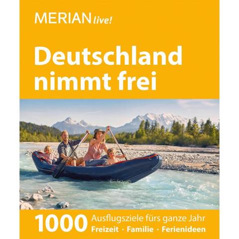 MERIAN live! Reiseführer Deutschland nimmt frei