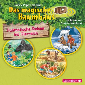 Fantastische Reisen ins Tierreich. Die Hörbuchbox (Das magische Baumhaus )