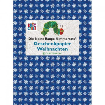 Die kleine Raupe Nimmersatt - Geschenkpapier-Heft Weihnachten