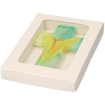 Kreuz aus Acryl Dein Engel (1 Stück)